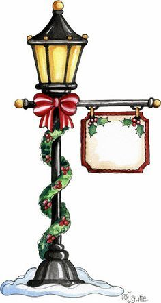 Lamp Post clipart yard Towns Google Lamp Search winter