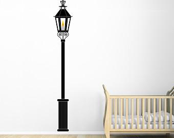 Lamp Post clipart yard Lamp Vinyl Wall Gas Lamp