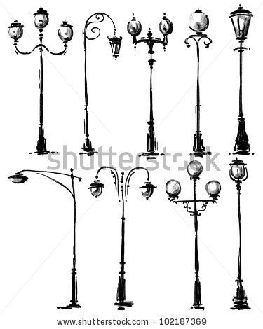 Lamp Post clipart yard Post stock photo Lamp ideas