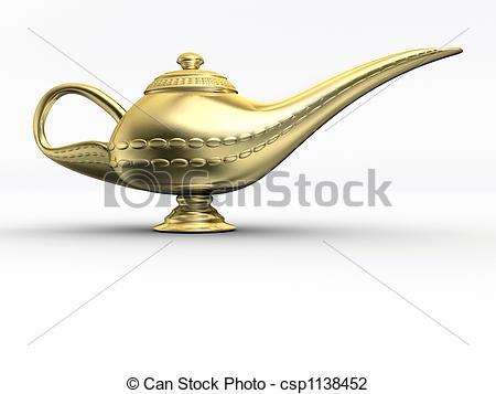 Lamps clipart aladin In 1 3d Aladdin A