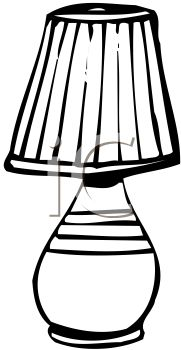 Lamps clipart black object Black And Lamp Panda Clipart