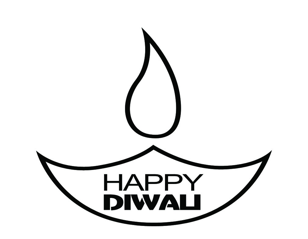 Lamps clipart diwali diya Pages Coloring Happy Coloring: Clipart