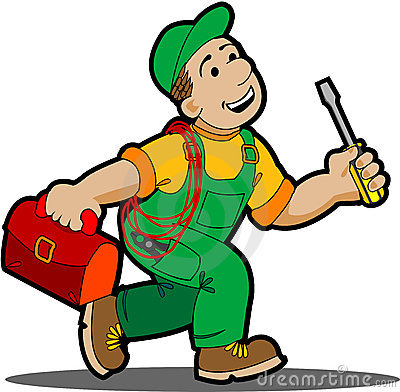 Electrical clipart electrical technician #1