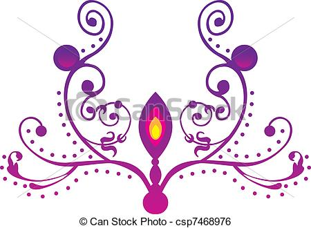 Lamps clipart indian oil Lamp Vector indian Art