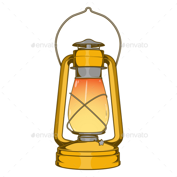 Lamps clipart kerosene lamp Lamp Antique and Old Brass