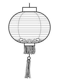 Paper Lantern clipart moon festival Celebrations coloring Learning: pages lantern