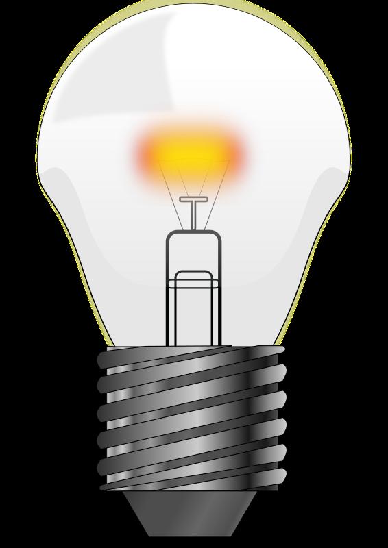 Bulb clipart led bulb Aladin Clip Clkercom Clip Art