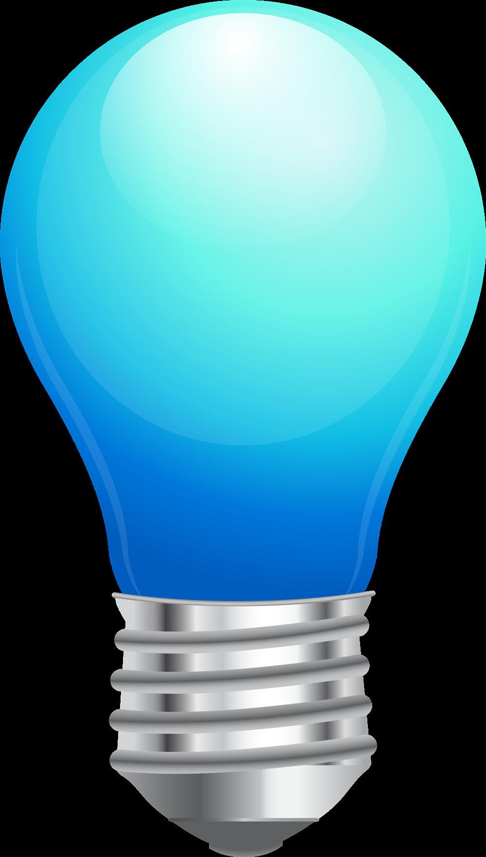 Bulb clipart lamp Blue Free Art Art Light