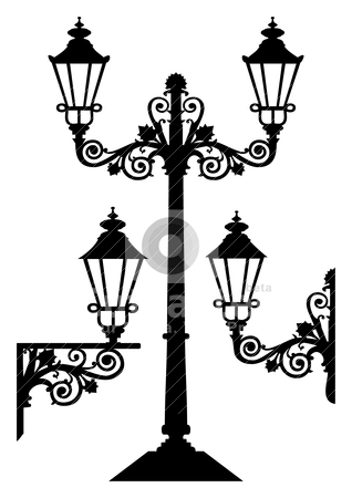Latern clipart old fashioned Lamp photograph old Street Old