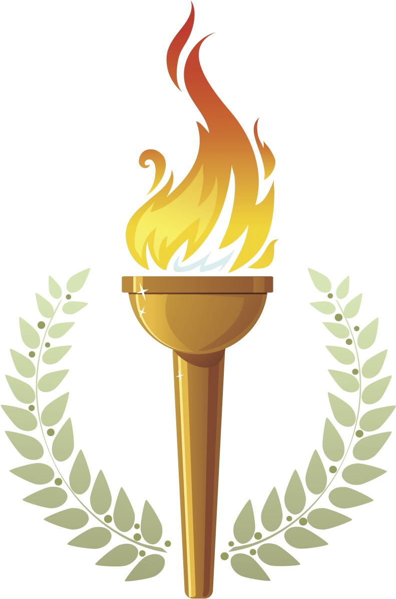 Graduation clipart torch Clipart greek Collection  Olympic