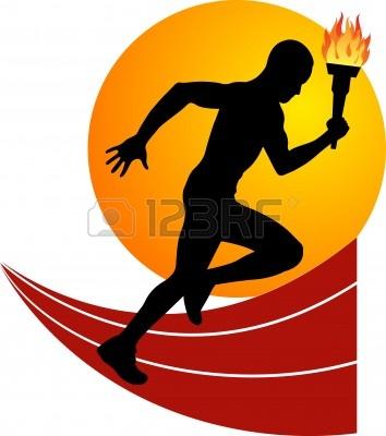 Torch clipart runner Running runners clipart Image Clipart