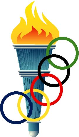 Torch clipart sport My themed Olympic  my