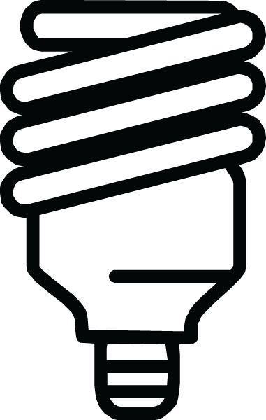 Fawcet clipart cfl Products Fluorescent Art Clip Bulb