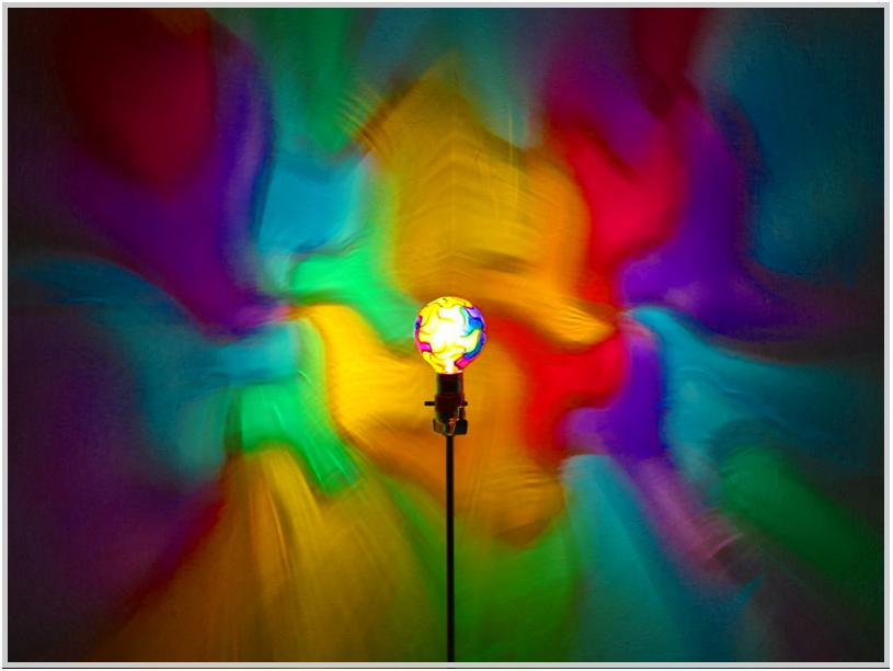 Lamps clipart rainbow colour  MoodLight 4/Night Rainbow Bulb