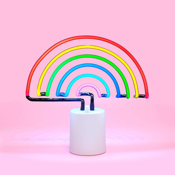 Lamps clipart rainbow colour Rainbow Best Rainbow neon 25+