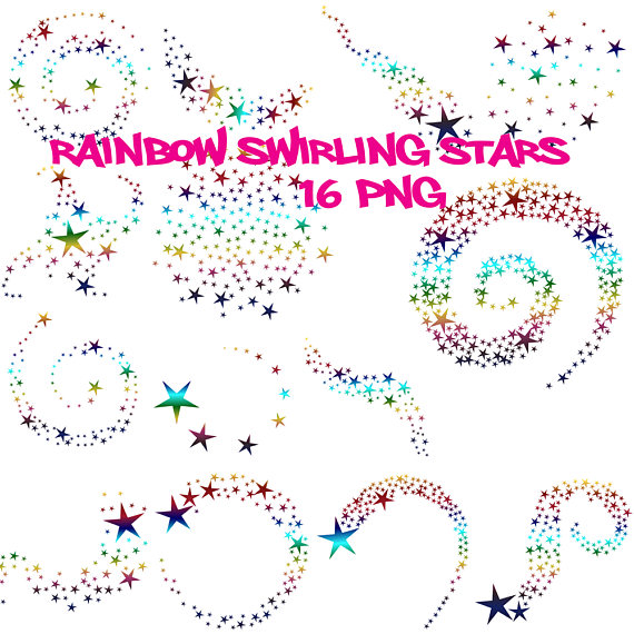 Lamps clipart rainbow colour Wedding clipart stars Rainbow rainbow