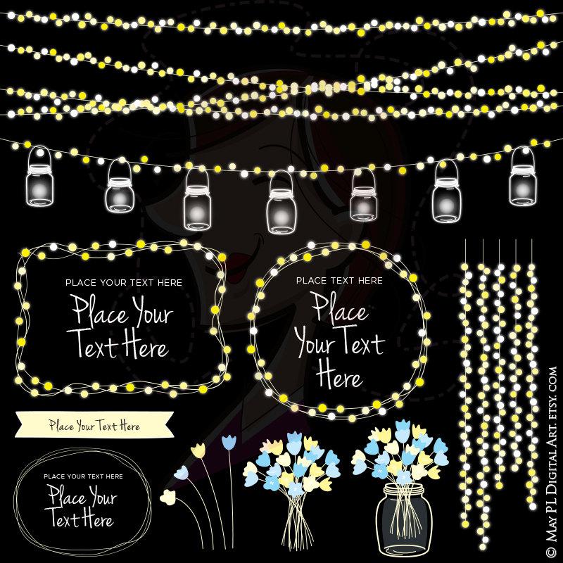 USE Lights Jars Etsy Mason