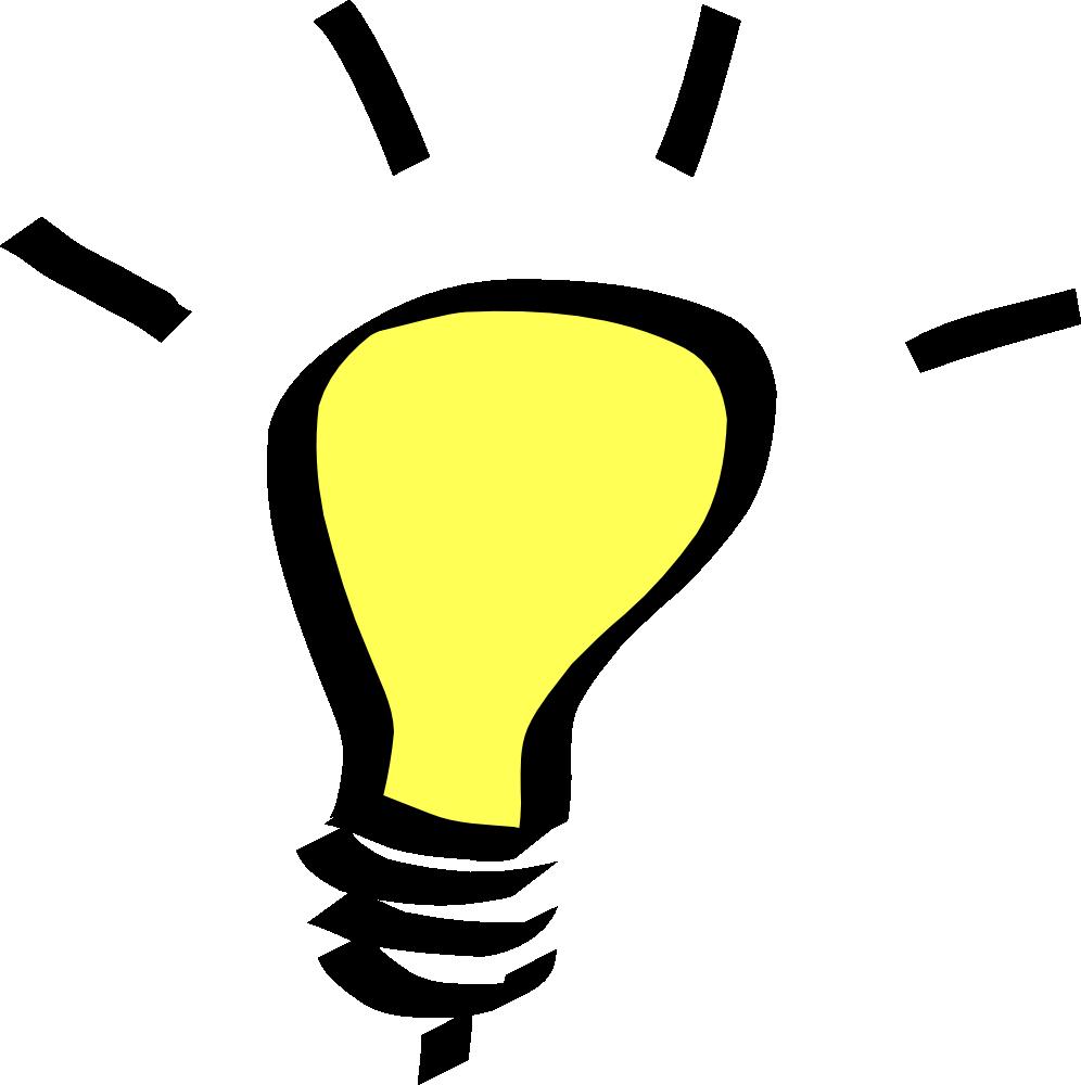 Bulb clipart for kid Light light clipart light clipart