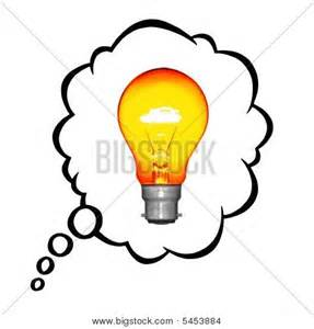 Lamps clipart thinking Photo or a glowing Thinking