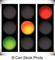 Lamps clipart yellow Lamps icons Vector Green signals
