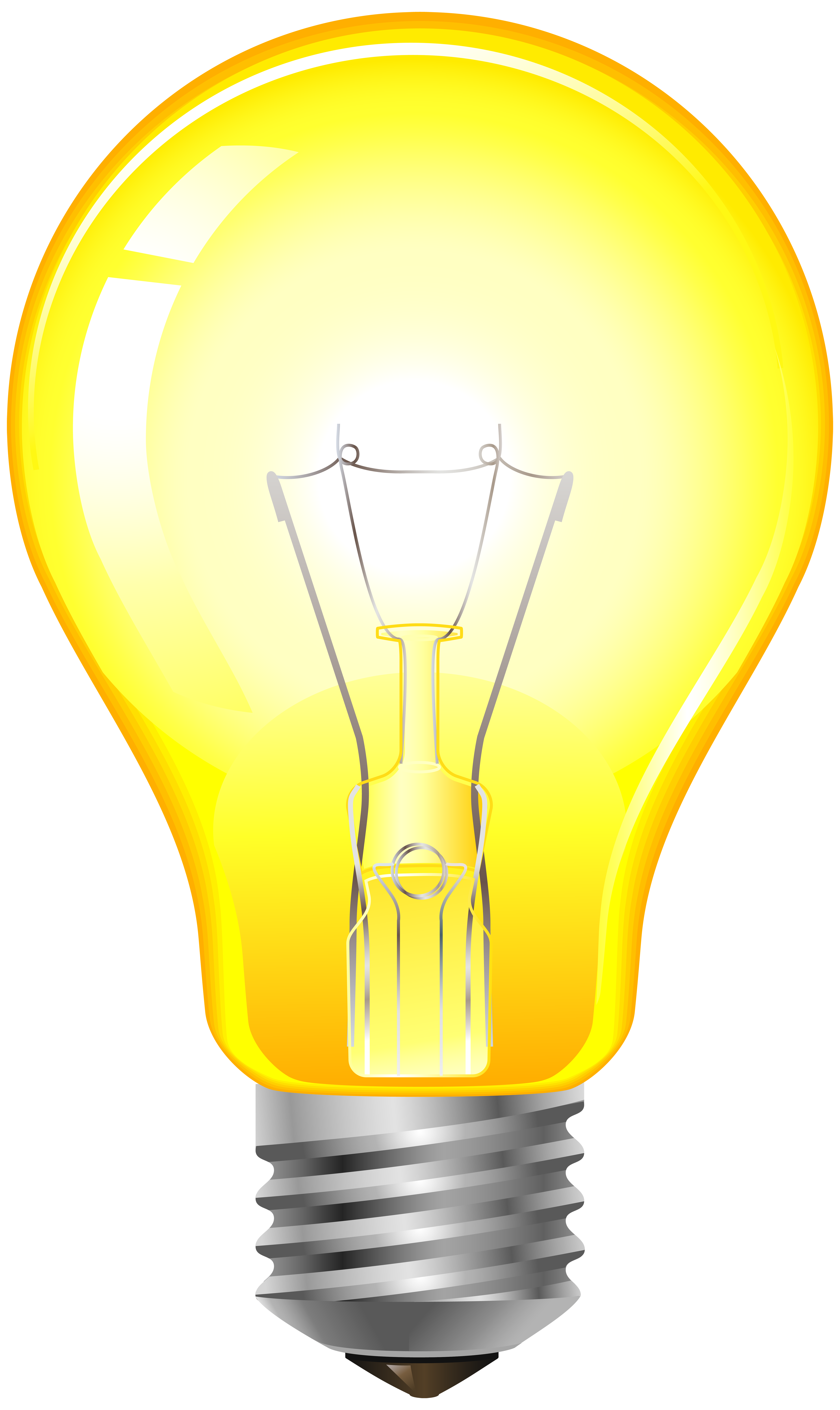 Electrical clipart lamp Yellow Yellow Light Clip PNG