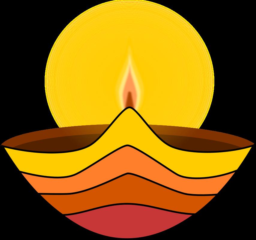 Oil Lamp clipart vilakku Clipart Diwali lamp MEDIUM IMAGE