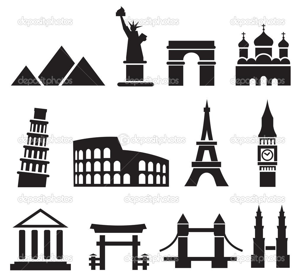 Landmark clipart Google Google world in landmarks