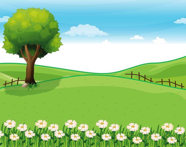 Countyside clipart nature cartoon Ideas 20+ Фото Best Фотках
