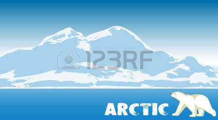 Arctic clipart arctic landscape Vector 10 Arctic collection The