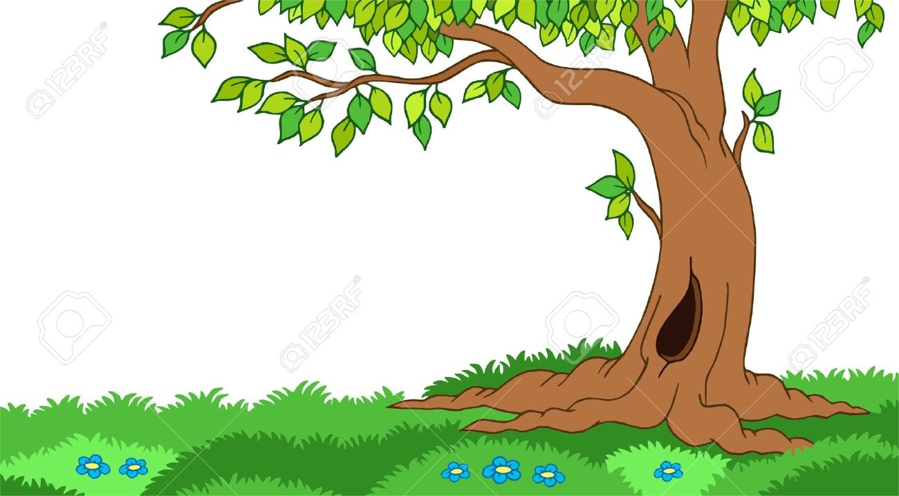 Tree clipart forest tree #12