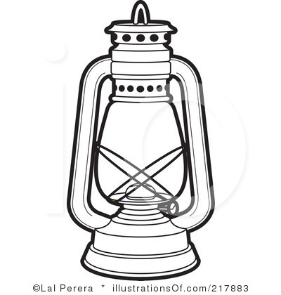 Latern clipart #8
