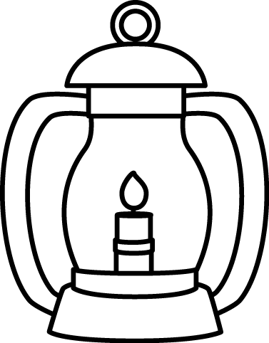 Latern clipart #7