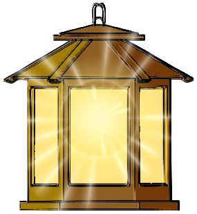 Latern clipart #11