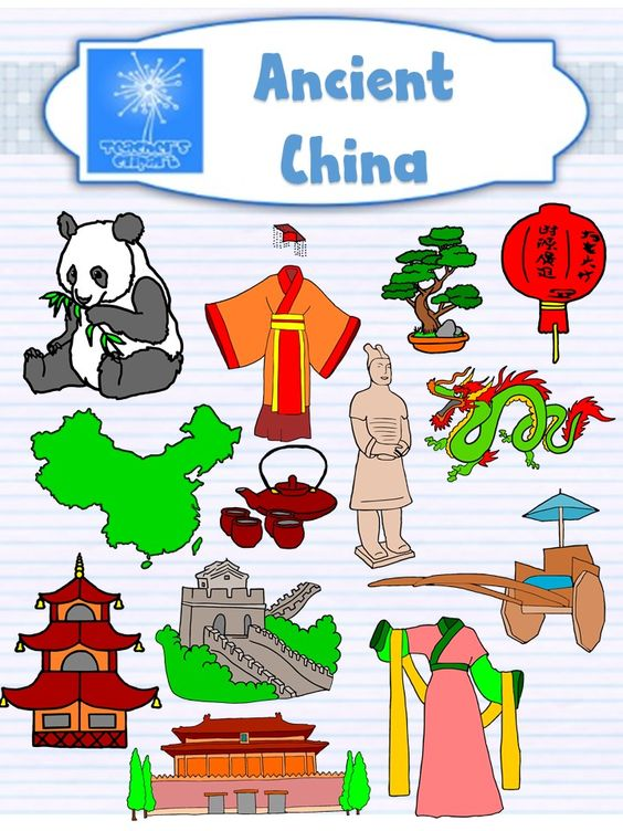 Pagoda clipart ancient china Art {Social Art  Studies