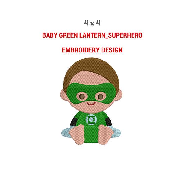 Lantern clipart baby green Machine Superhero Green Green Filled