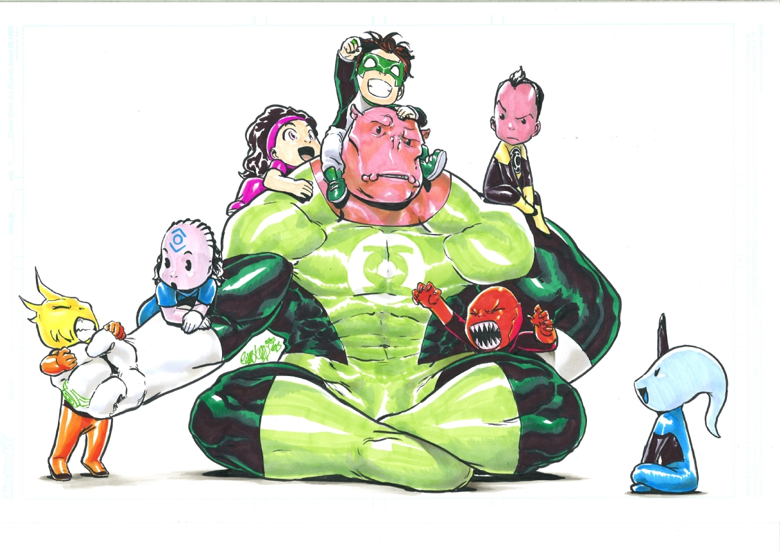 Lantern clipart baby green (Green Spectrum Terence babies!!! Oz