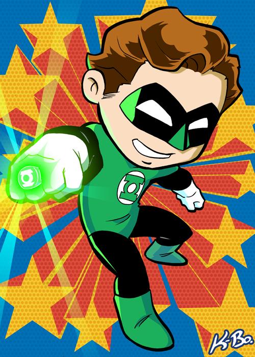 Lantern clipart baby green Lantern Powers on Lantern kevinbolk