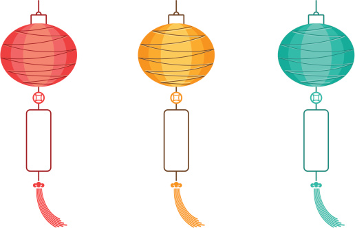 Lantern clipart chinese border Chinese Zone Lantern Border Clipart