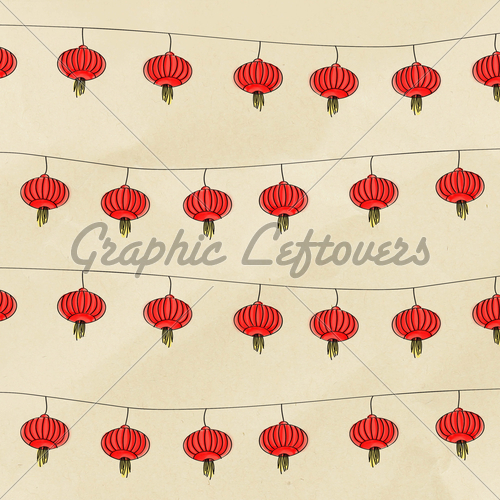 Lantern clipart chinese border Chinese Images · Lantern With