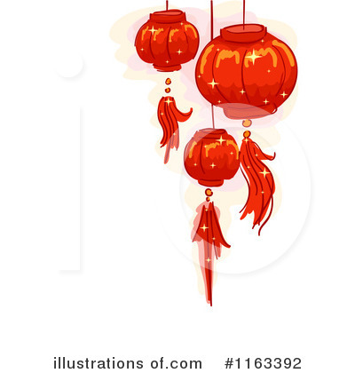 Lantern clipart chinese border Chinese clipart Studio Lanterns Clipart