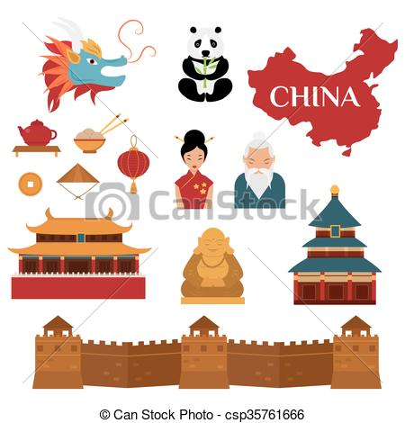 Culture clipart chinese Csp35761666 Chinese Chinese Vector culture