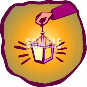 Latern clipart hand holding Clipart Lantern Holding a Lantern