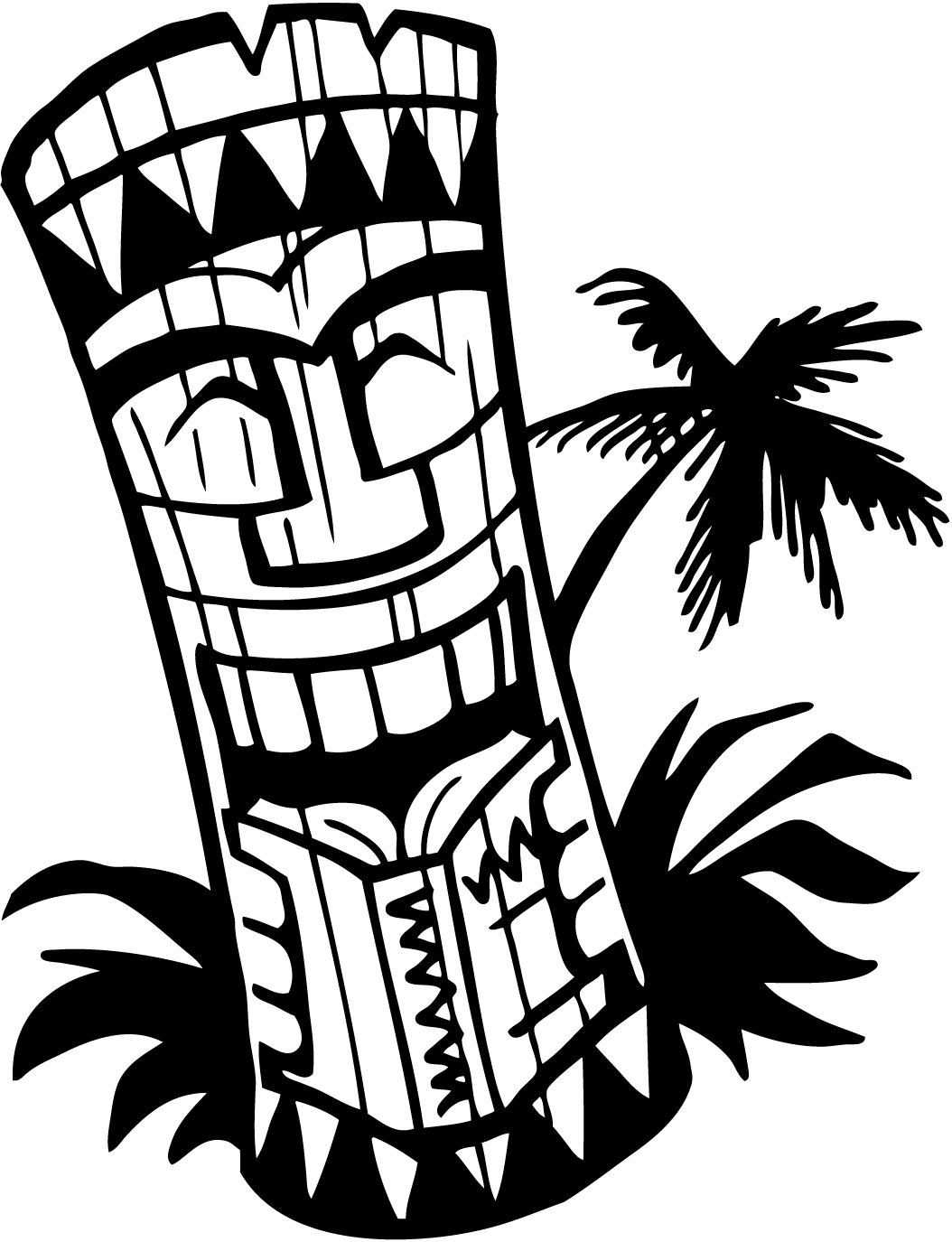 Necklace clipart hawaii #11