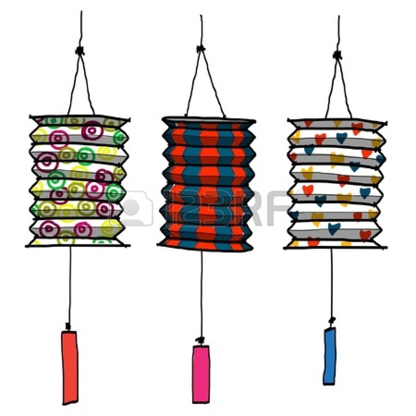 Paper Lantern clipart border Art (18+) border Clipart Festival
