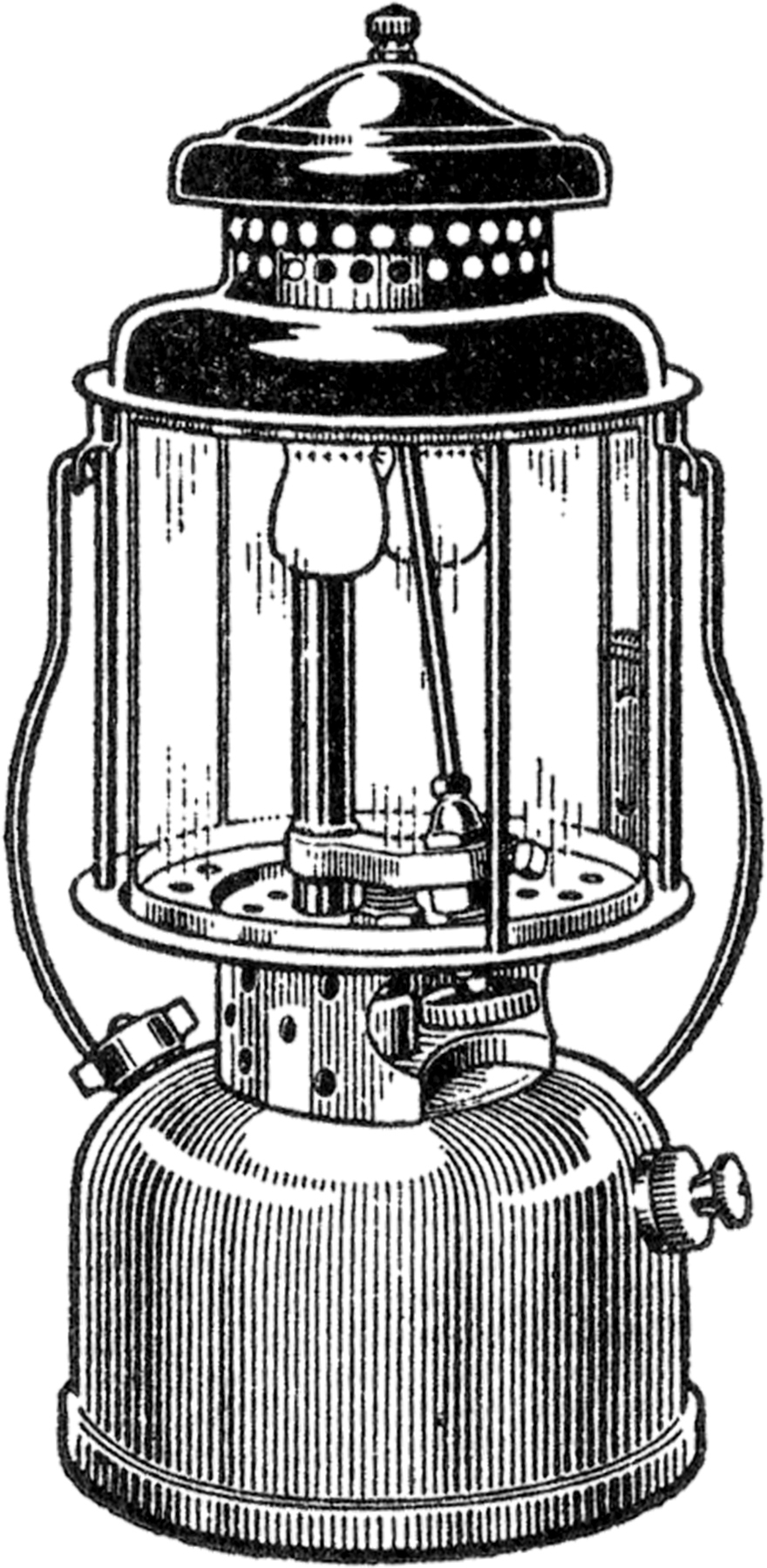 Latern clipart old fashioned Image Camping Lantern Free Image