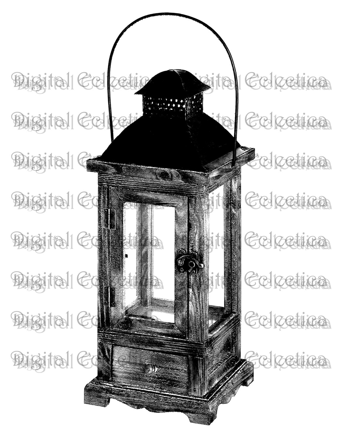 Latern clipart old fashioned PNG clipart Lantern Lantern Antique