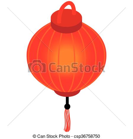 Latern clipart red chinese #1