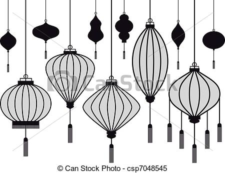 Paper Lantern clipart black and white Chinese tattoo Pinterest chinese Search