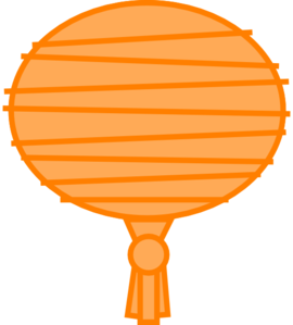 Paper Lantern clipart china At Clip  Clker clip