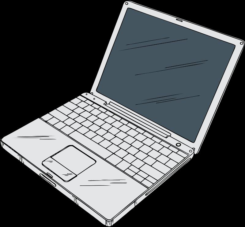 Laptop clipart Laptop 2 clipart of art